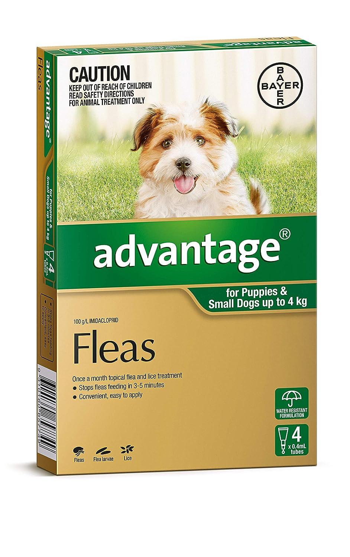 Advantage Pet Meds Dog 4kg Green 4