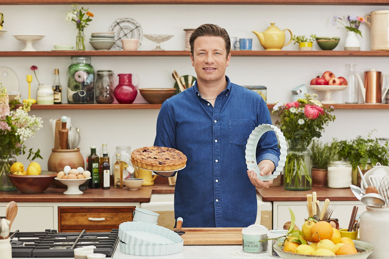 JAMIE OLIVER Tart Pie Tin, 10 Inches, Nonstick by Jamie Oliver (Image #5)