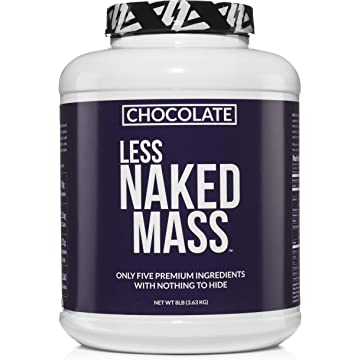 best selling NAKED MASS Mass Gainer Protein Powder