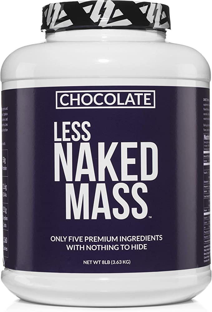 Less Naked Mass Weight Gainer