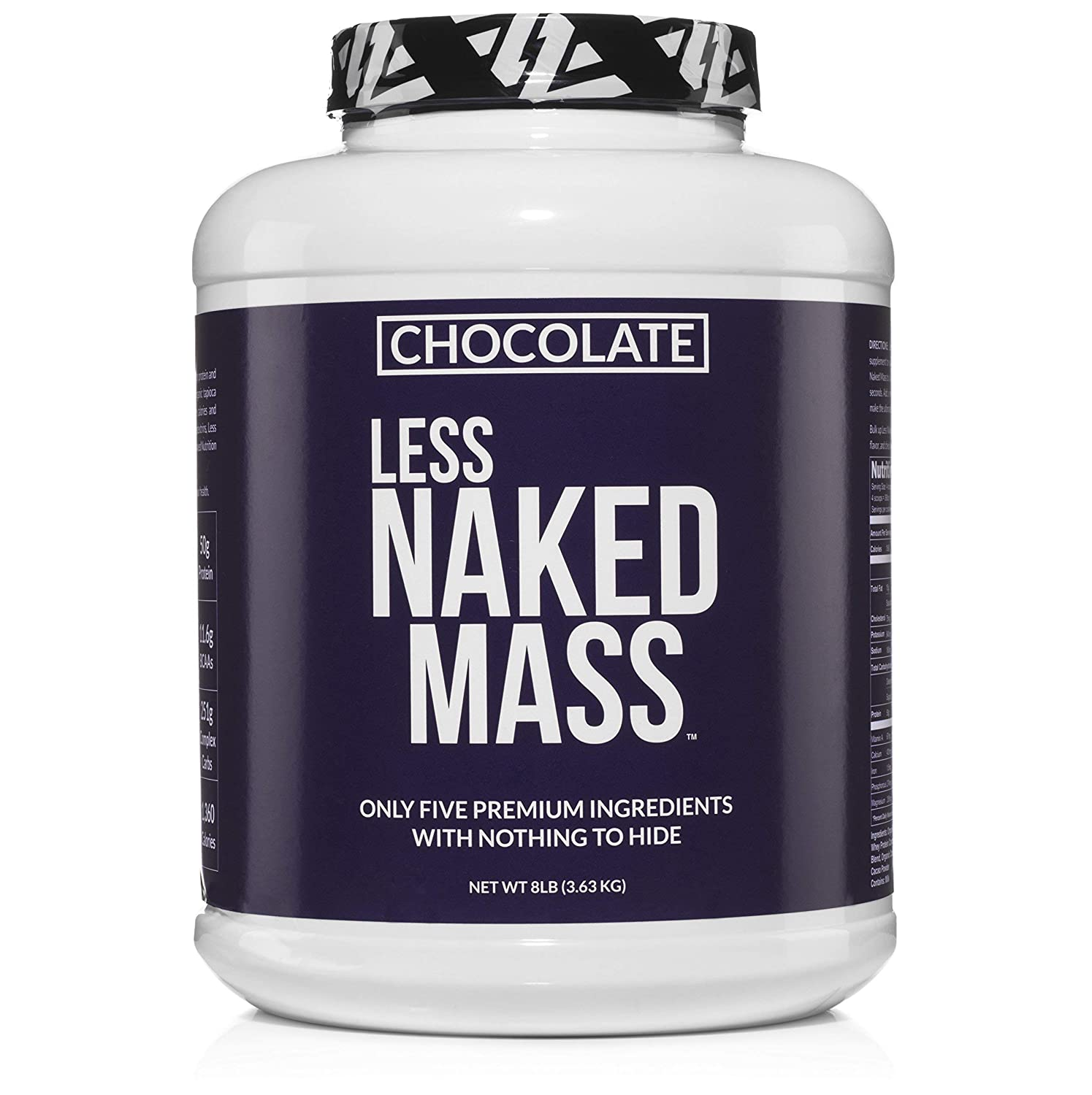 Less Naked Mass