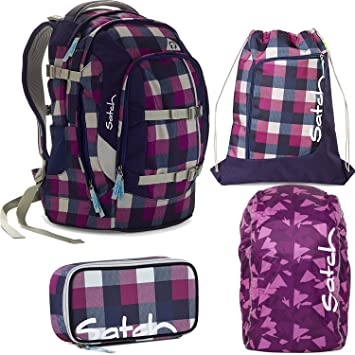 5e2230d9481ea satch by Ergobag Berry Carry 4-teiliges Set Rucksack