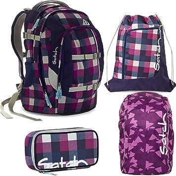 512de63a5dfdd satch by Ergobag Berry Carry 4-teiliges Set Rucksack