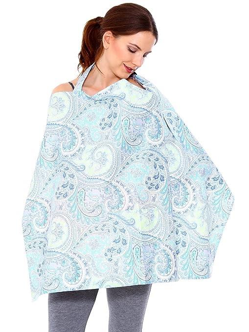 d6e5a7bf86c HB HOMEBOAT® Couvertures d allaitement Nursing Cover Bleu  Amazon.fr ...
