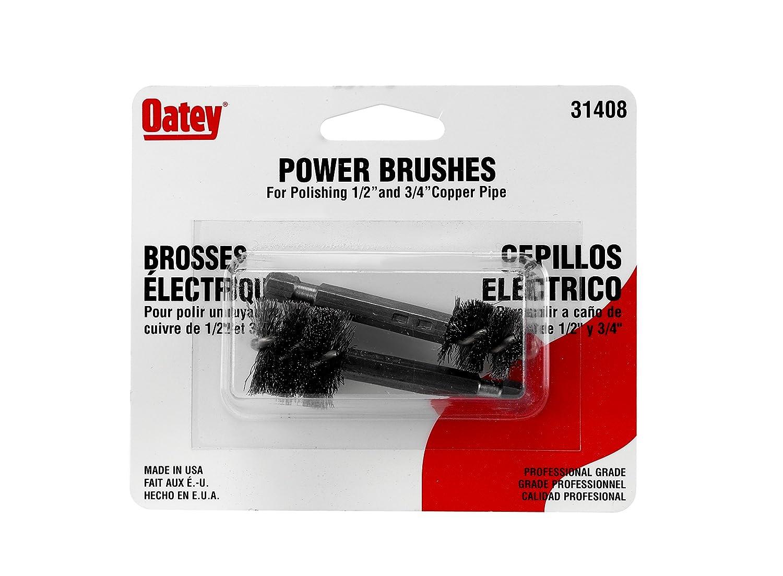 Oatey 31408 Household Bristle Paintbrushes 1//4 /& 1//2