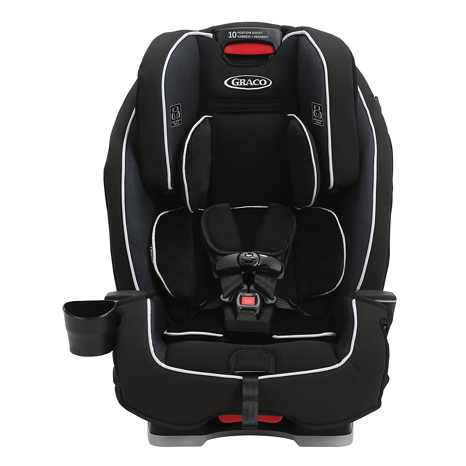 Amazon.com : Graco Milestone All-in-1 Convertible Car Seat, Gotham ...