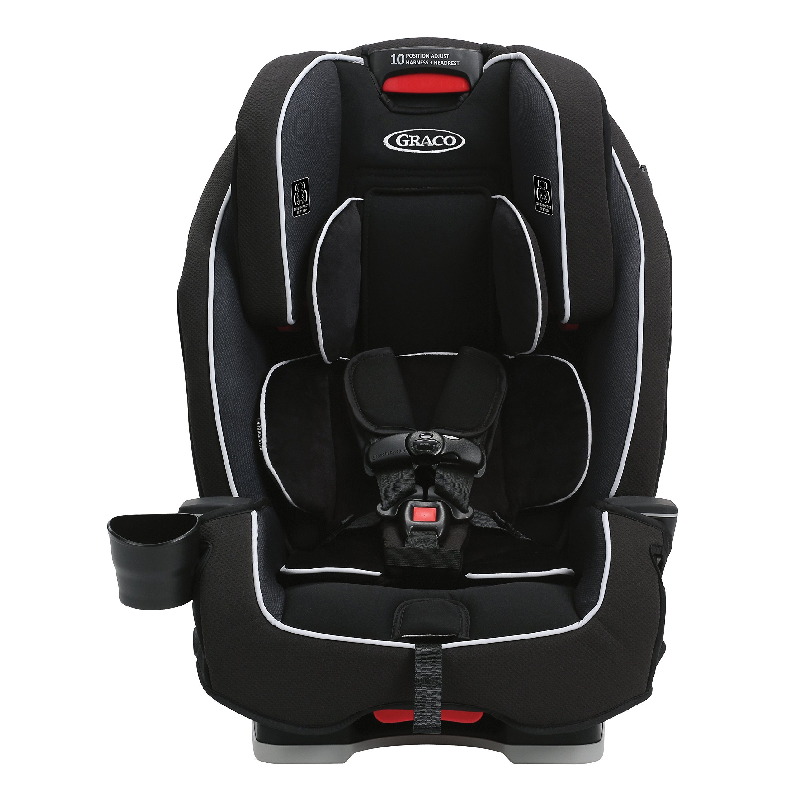 Graco Milestone All-in-1 Convertible Car Seat, Gotham by Graco (Image #2)