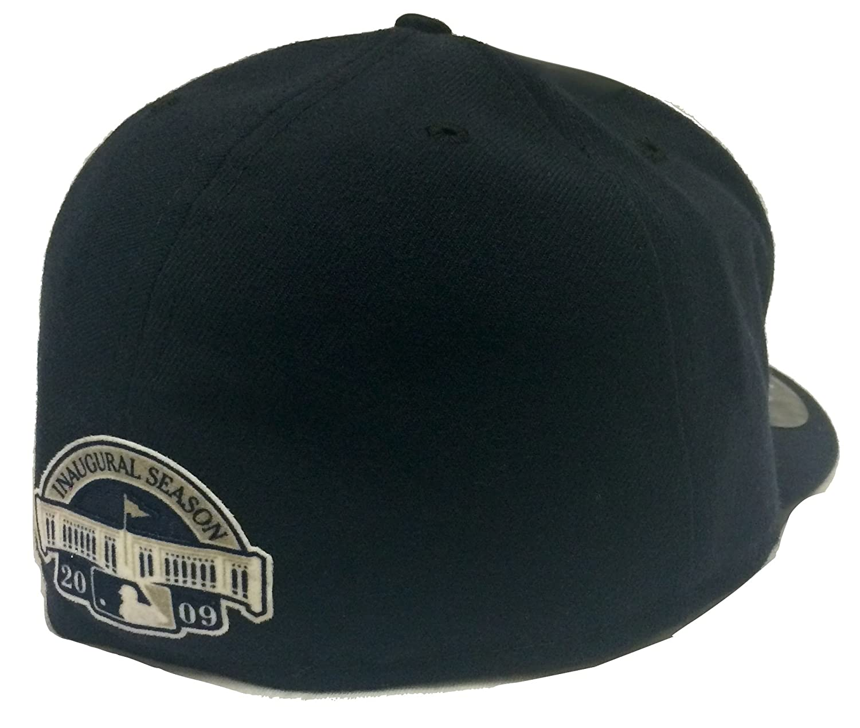 f15e6183042 Amazon.com  New Era 59Fifty On-Field Inaugural Season 2009 New York Yankees  Navy Fitted Cap (8)  Clothing