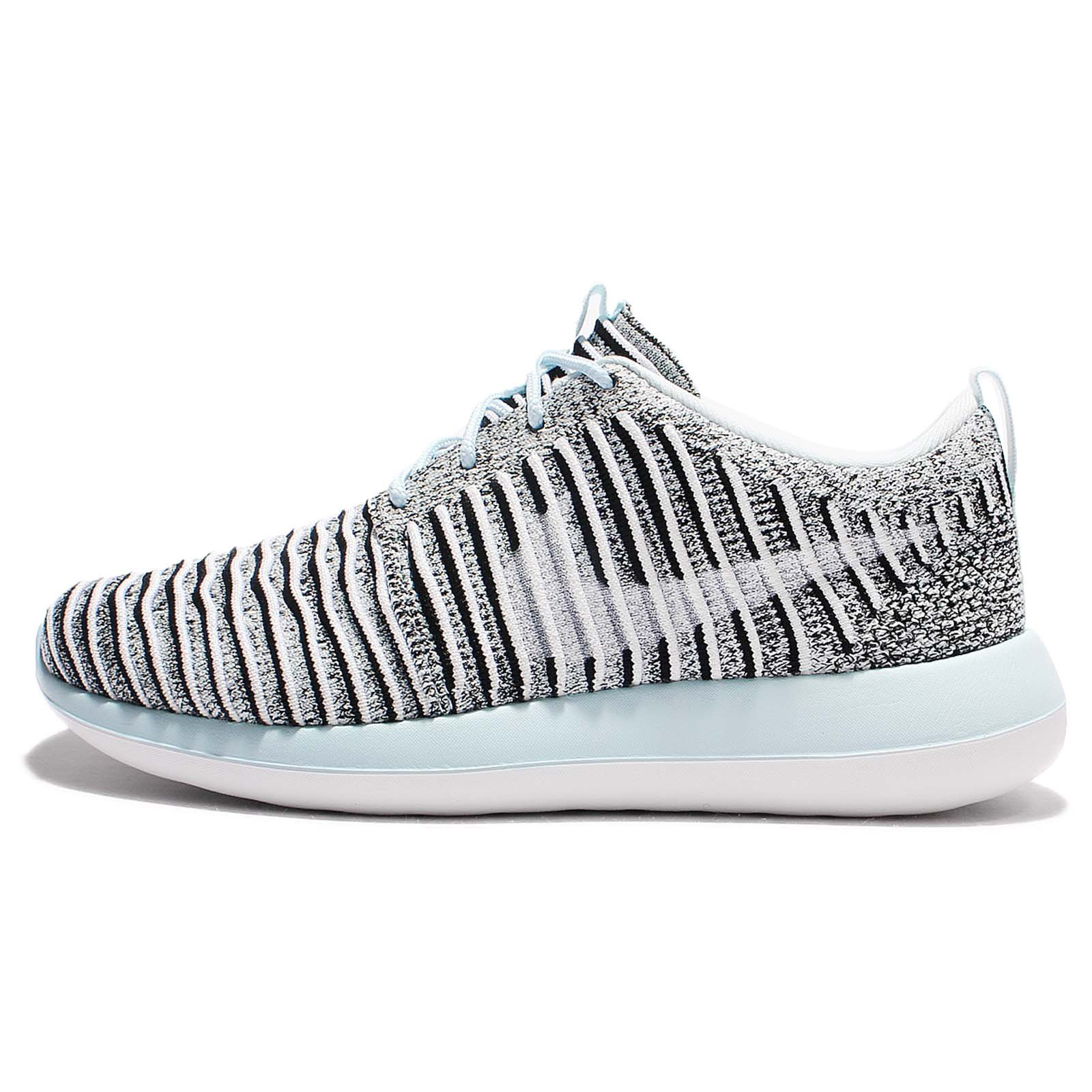 Nike Roshe Two Flyknit Womens Running Shoes 844929 004 Wolf
