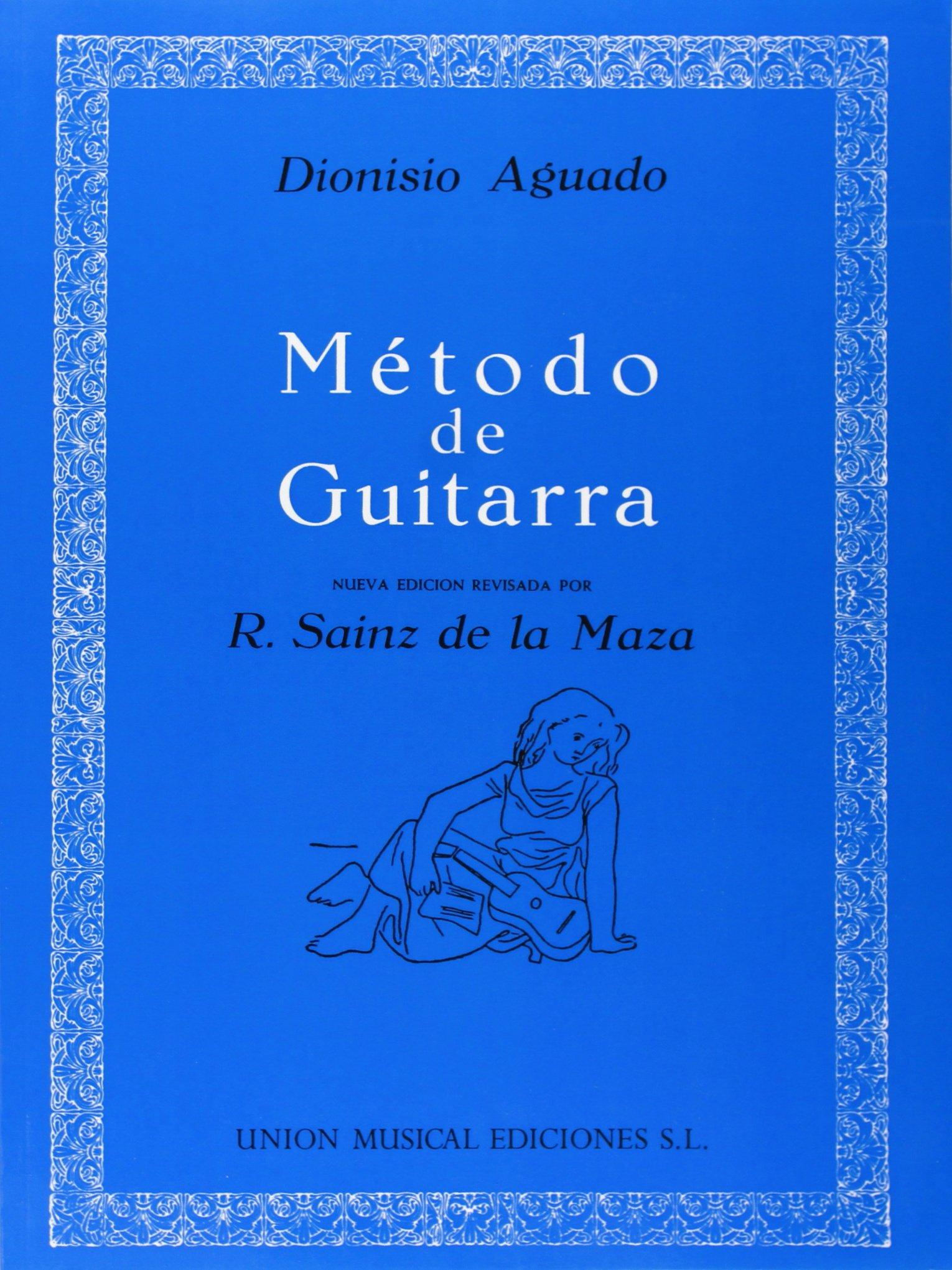 Dionisio Aguado: Metodo De Guitarra: Amazon.es: Aguado, Dionisio ...