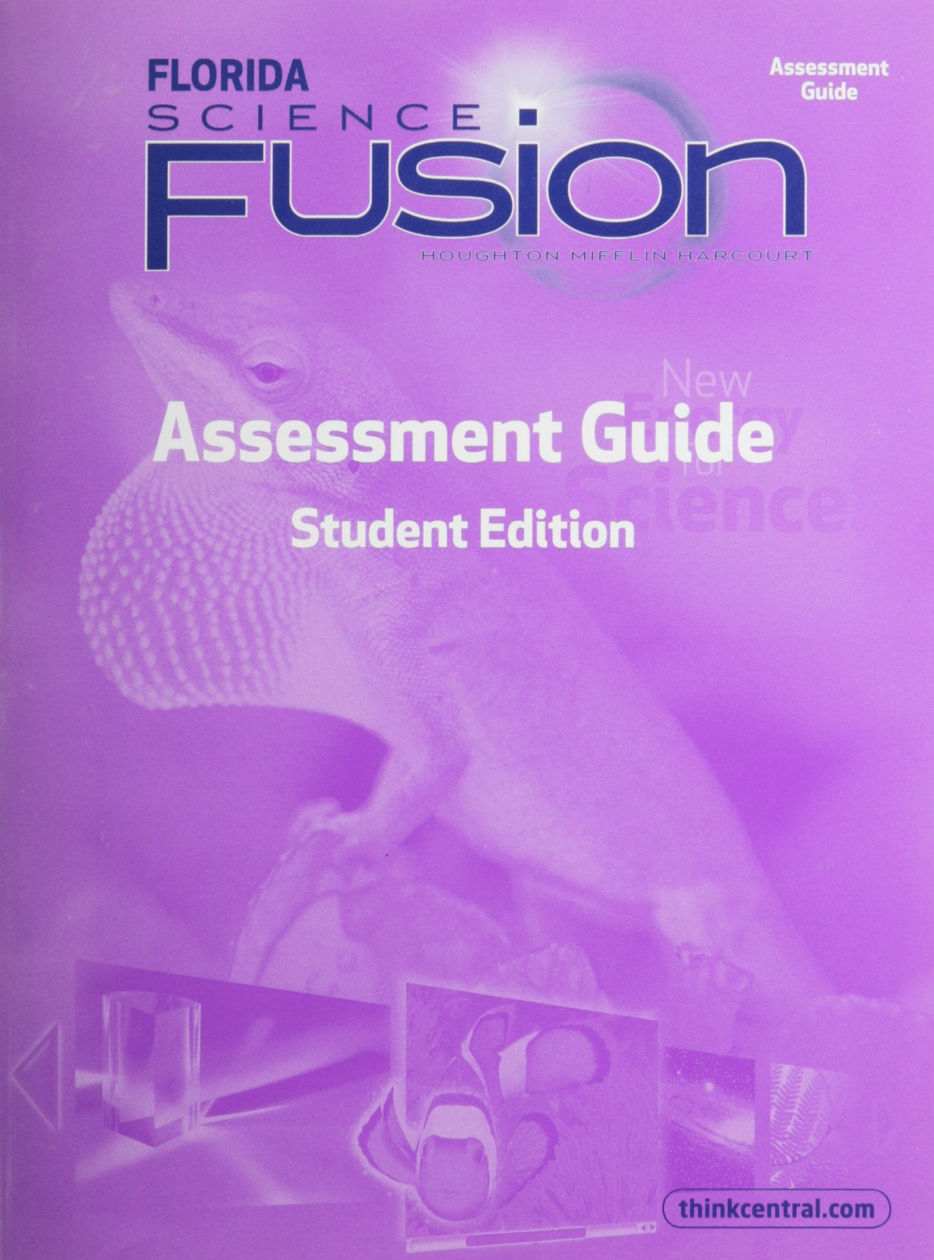 Houghton Mifflin Harcourt Science Fusion: Assessment Books Grade 3