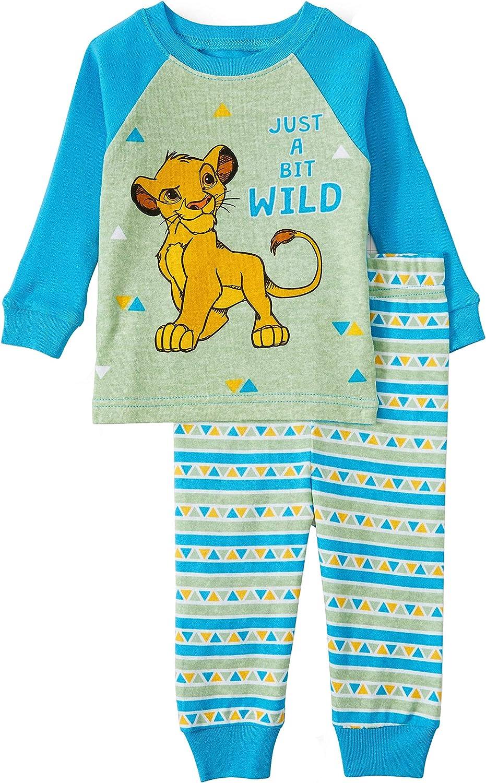 Disney Lion Guard 2 PC Long Sleeve Pajama Set Boy Size 5T
