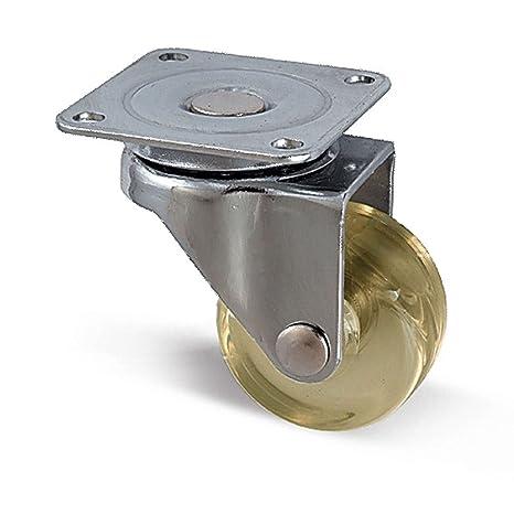 SO-TECH® Rueda giratoria para mueble Diametro 35 mm Color marrón