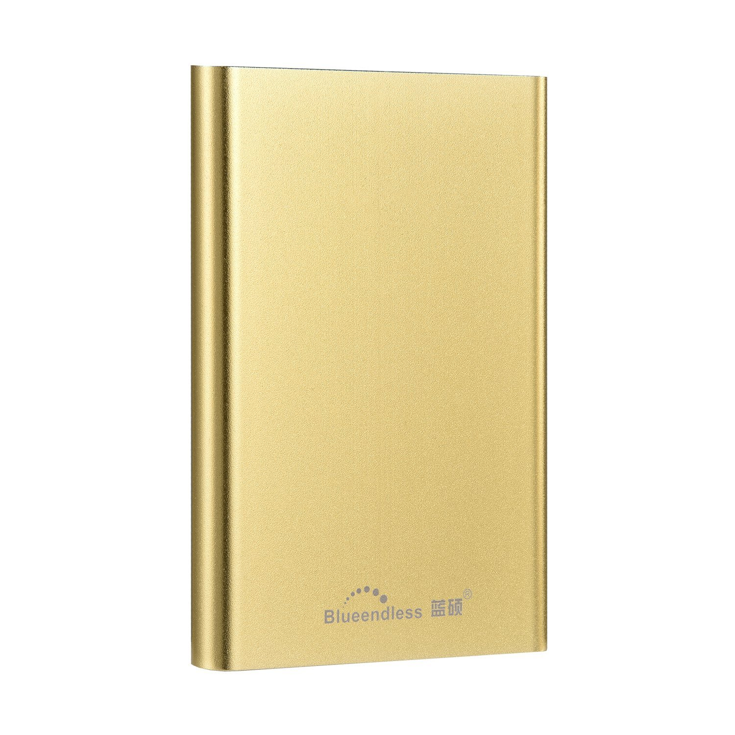 320GB Portable External Hard drive Blueendless HDD 2.5'' Hard Disk Storage Devices computer laptop (GOLDEN)