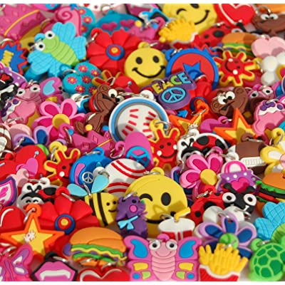 Girls charms for loom bracelets. Fits all rubberband products. 25 Different styles.: Toys & Games