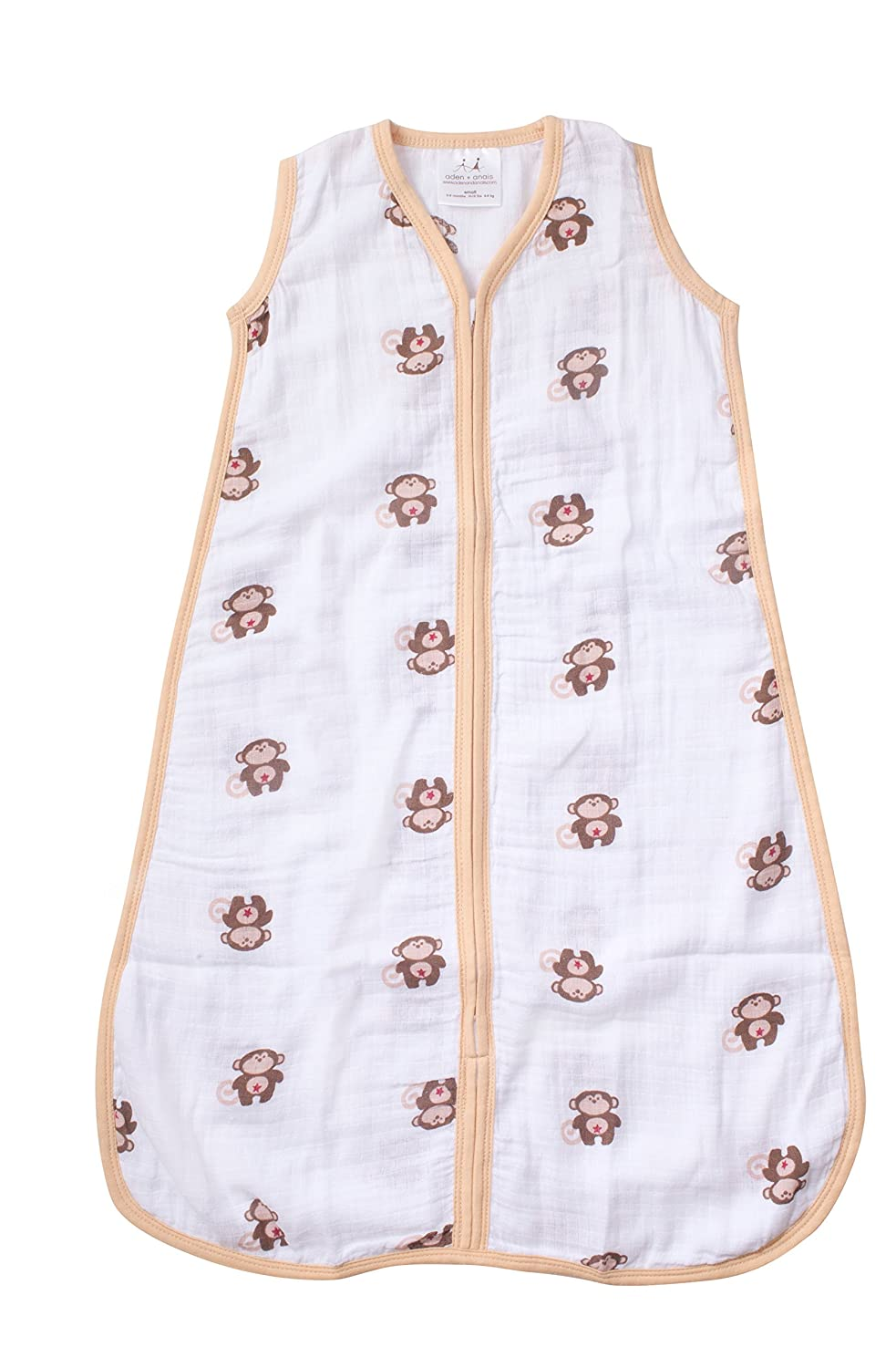 aden by aden + anais Sleeping Bag, Safari Friends- Monkey- M