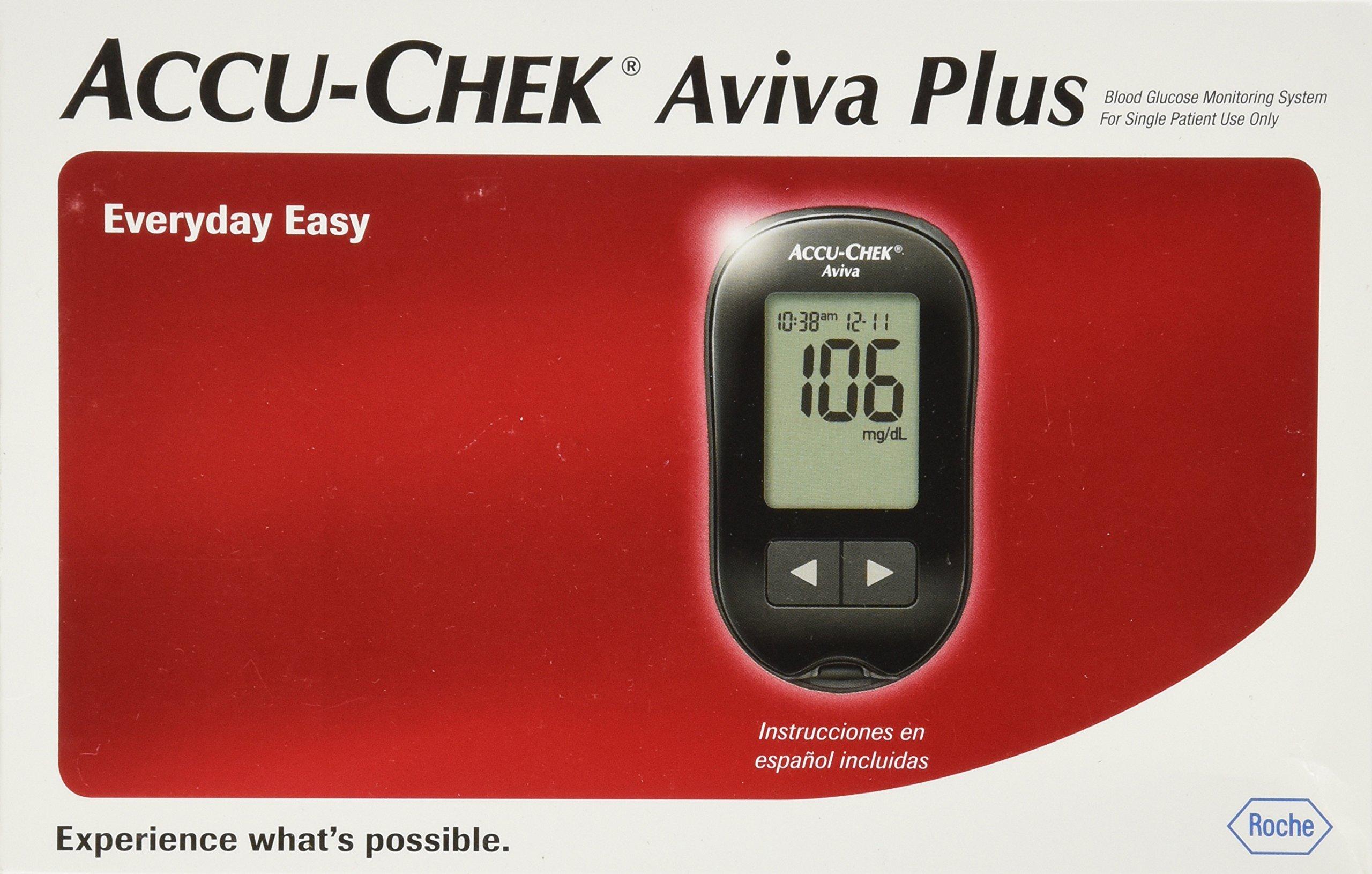 ACCU-CHEK Aviva Blood Glucose Meter by ACCU-CHEK