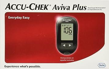 amazon com accu chek aviva blood glucose meter health personal care