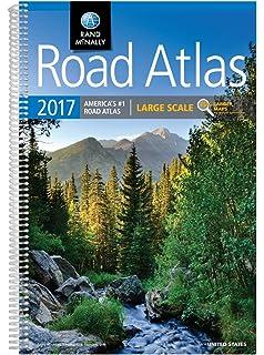 Rand McNally Large Scale Road Atlas Rand McNally Road Atlas - Road atlas usa