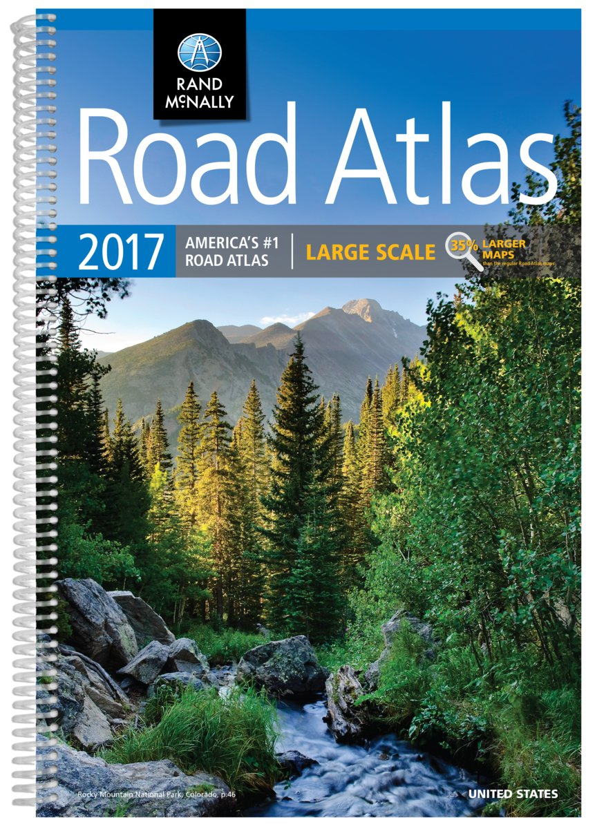 Road Atlas 2017 Scale Rand McNally