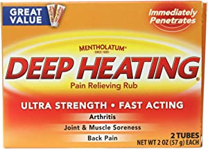 Mentholatum Deep Heating Rub-4oz