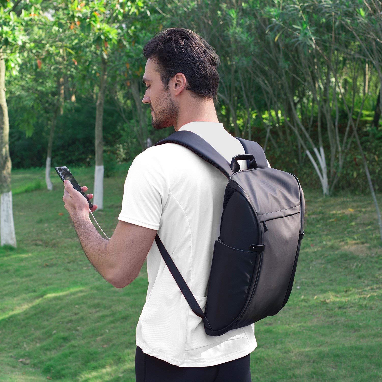 Color : Dark Blue Zxcvlina Women Backpack Waterproof Schoolbags Anti-Theft Rucksack Shoulder Bags Water-Resistant Big Business College School Bookba