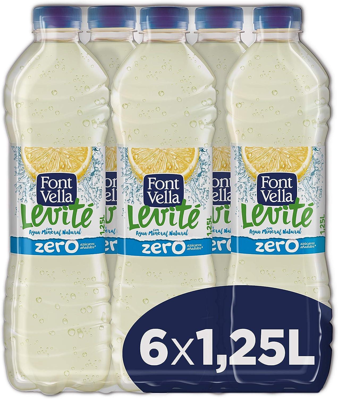 Font Vella Levité Limón Zero - pack de 6 x 1,25L: Amazon.es: Alimentación y bebidas