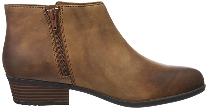 Clarks Addiy Zora, Bottes Rangers Femme, Marron (Tan Leather), 38 EU