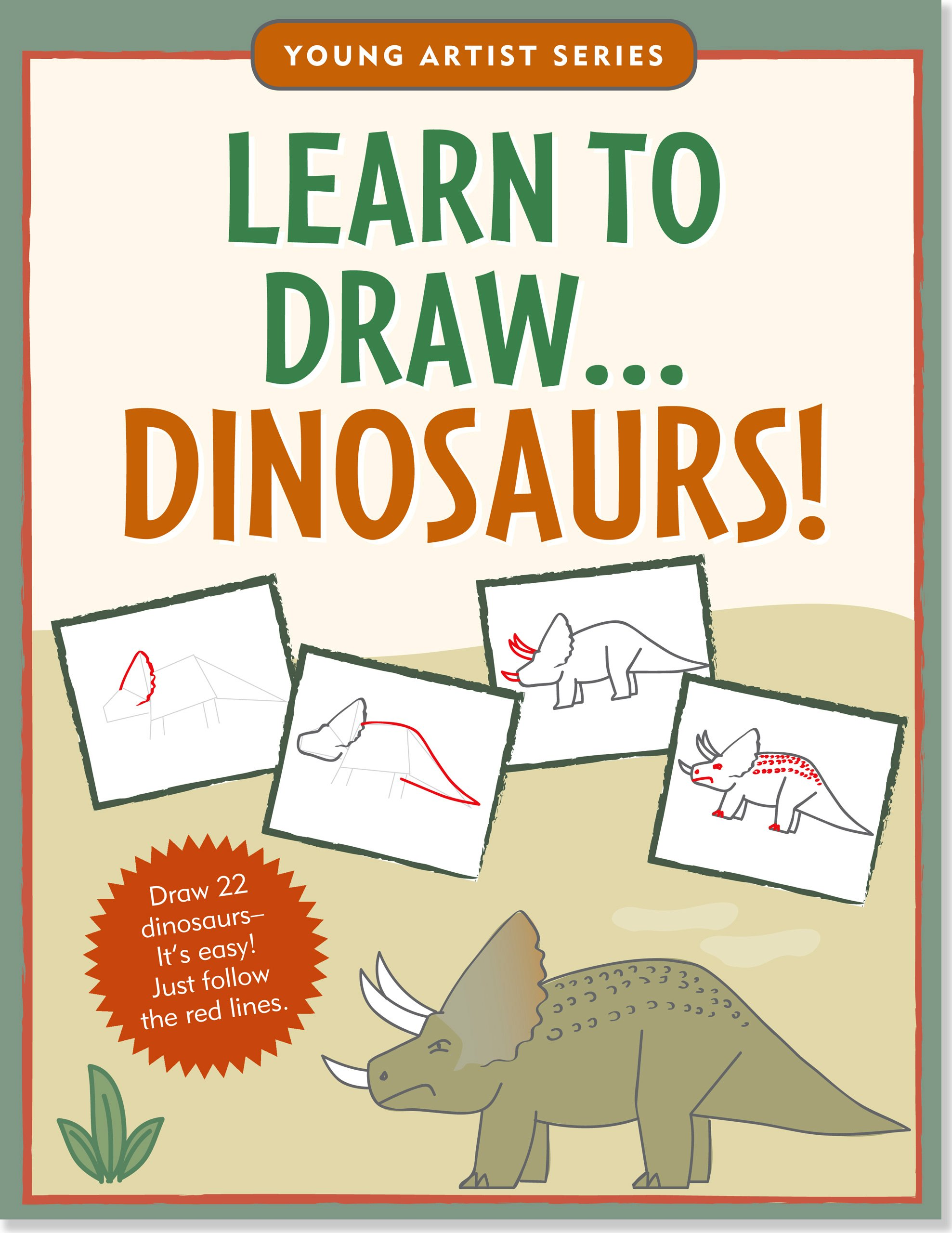 Learn Dinosaurs Step Drawing Artist product image