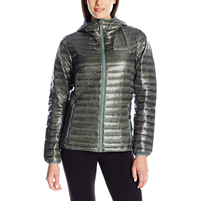 .com : Columbia Women's Platinum Plus 740 TurboDown Hooded JKT : Clothing