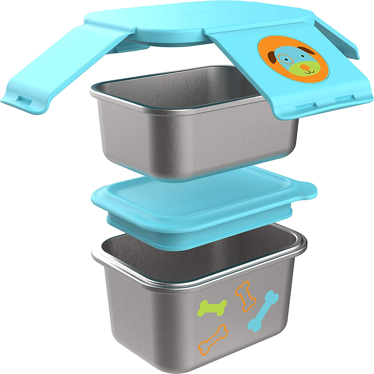 Skip Hop Stainless Steel Toddler Lunch Kit Dog