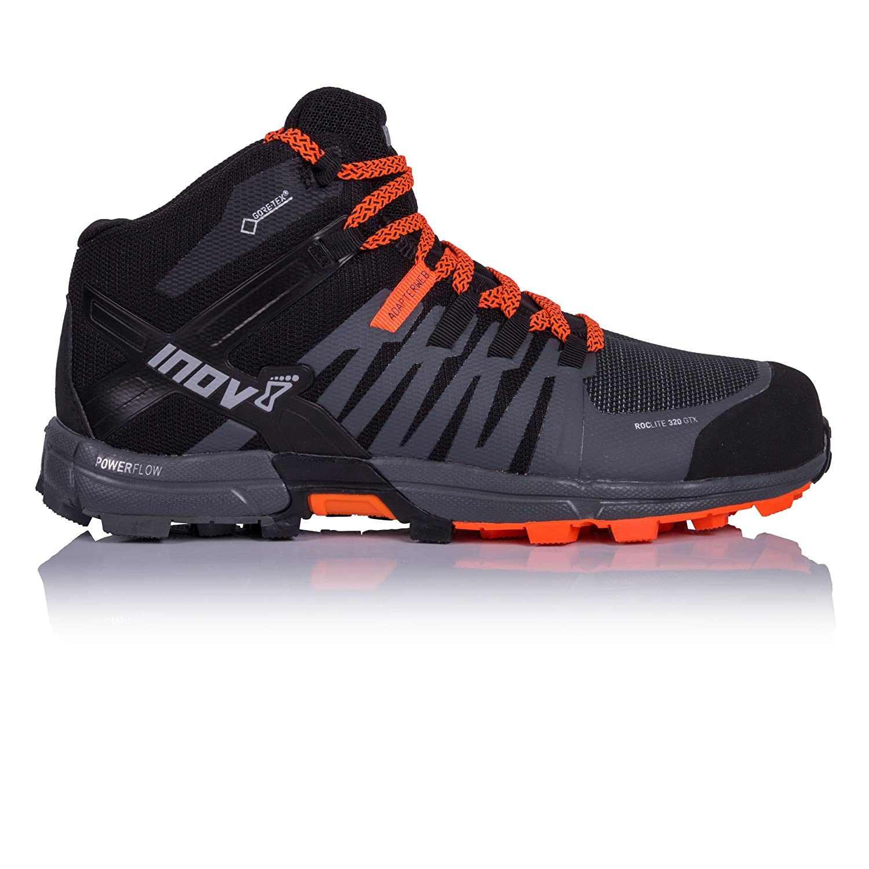 Inov-8 Mens Roclite 320 GTX B075TFTC1S 11.5 M UK|Black/Grey/Orange