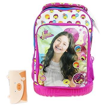 Disney Soy Luna Icons Mochila Trolley Expandible con Ruedas Bolso Escolar con Regalo: Amazon.es: Equipaje