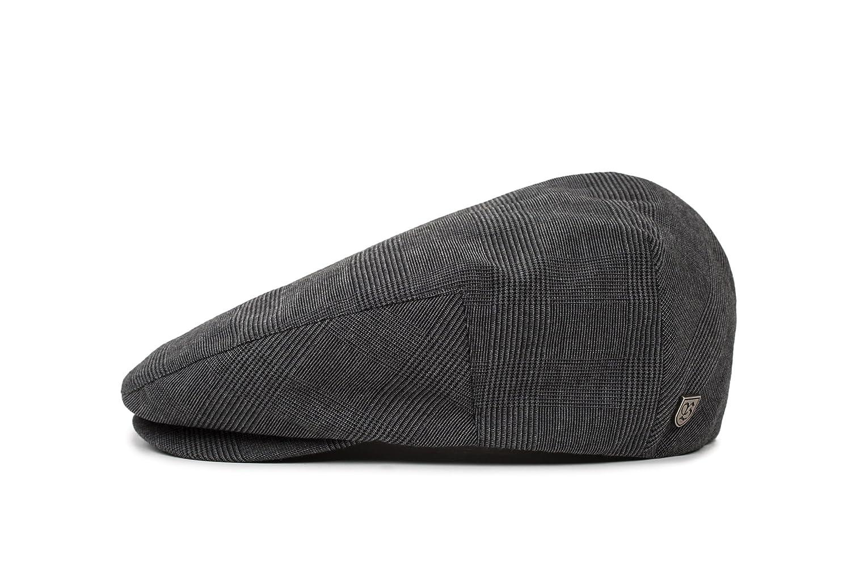 Brixton Hooligan Black/Dark Grey Flat Cap
