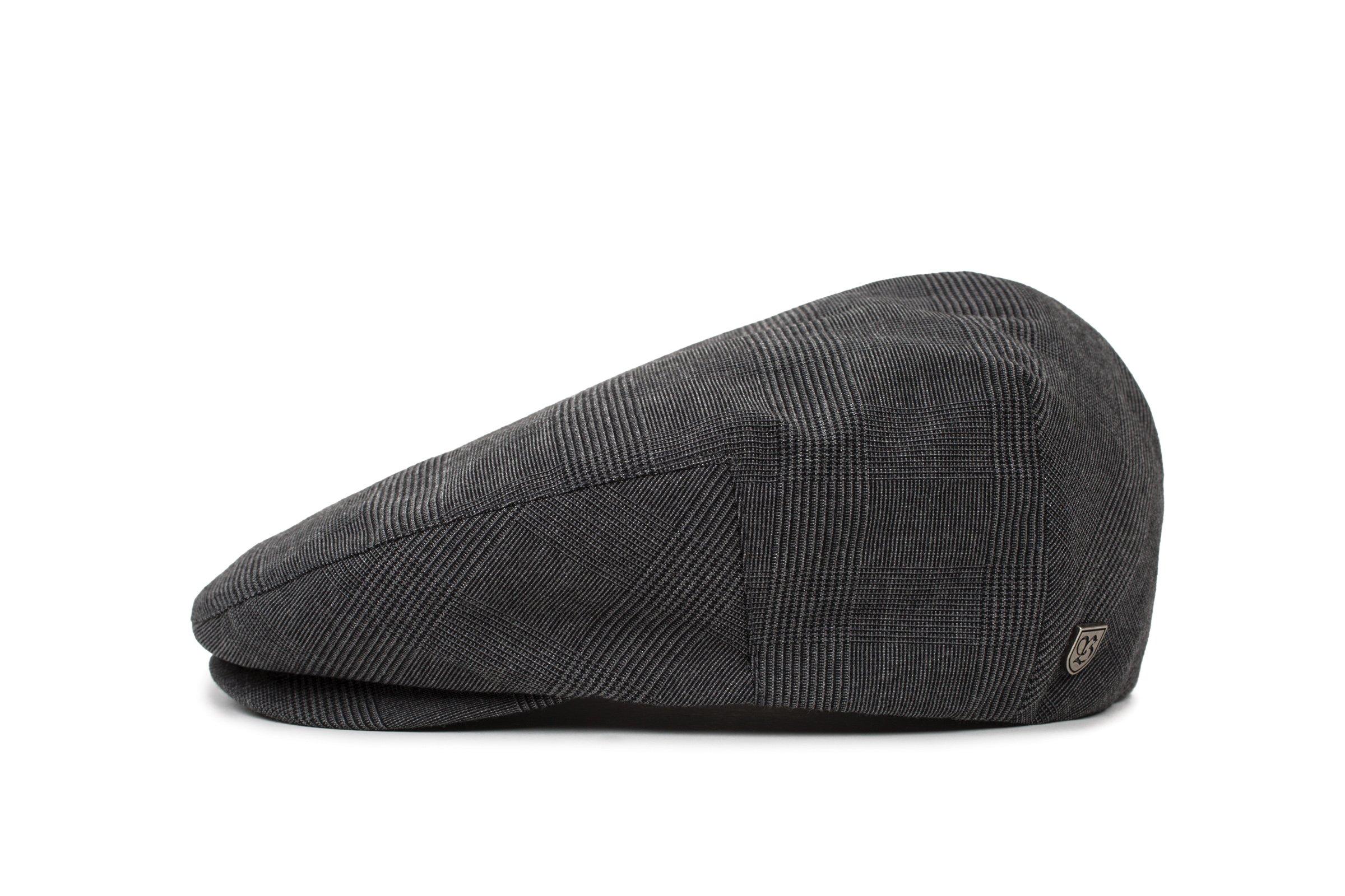 a3da296c Galleon - Brixton Men's Hooligan Driver SNAP HAT, Black/Dark Grey S