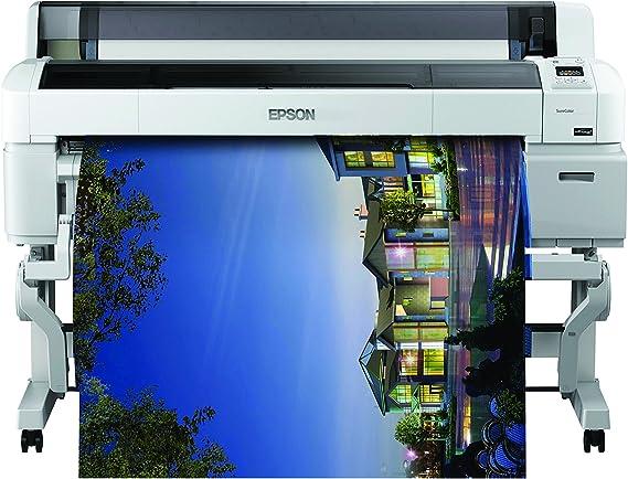 Epson SureColor SC-T7200D-PS - Impresora de Gran Formato (2880 x 1440 dpi, ESC/P-R,HP-GL/2,HP-RTL,Postscript 3, Cian, Magenta, Negro Mate, Foto Negro, Amarillo, A0 (841 x 1189 mm), 0.08-1.5 mm, 3 mm): Epson: Amazon.es: