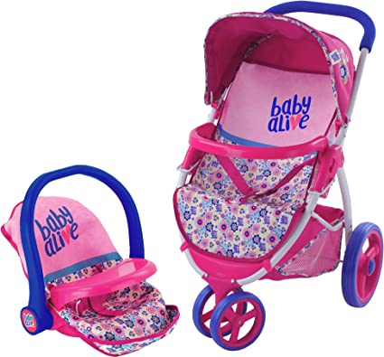 Baby Strollers Alive Classic Pram Doll Toys /& Games