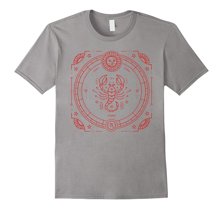 Scorpio Tshirt Zodiac Star Sign Horoscope Shirt Clothing-FL