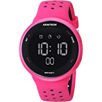 Armitron - Reloj deportivo unisex con cronógrafo digital y correa de silicona