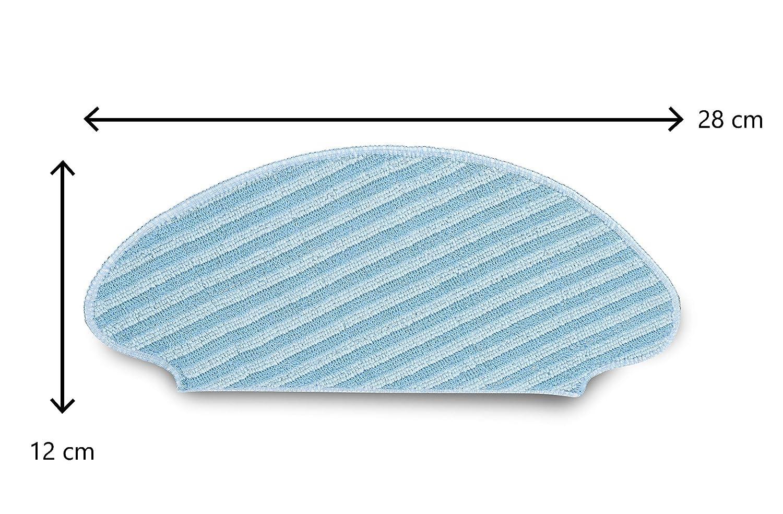 in microfibra Rowenta zr6902es/ /2/panni di ricambio per i robot della Gamma Smart Force Essential Aqua lavabili E Facile uso