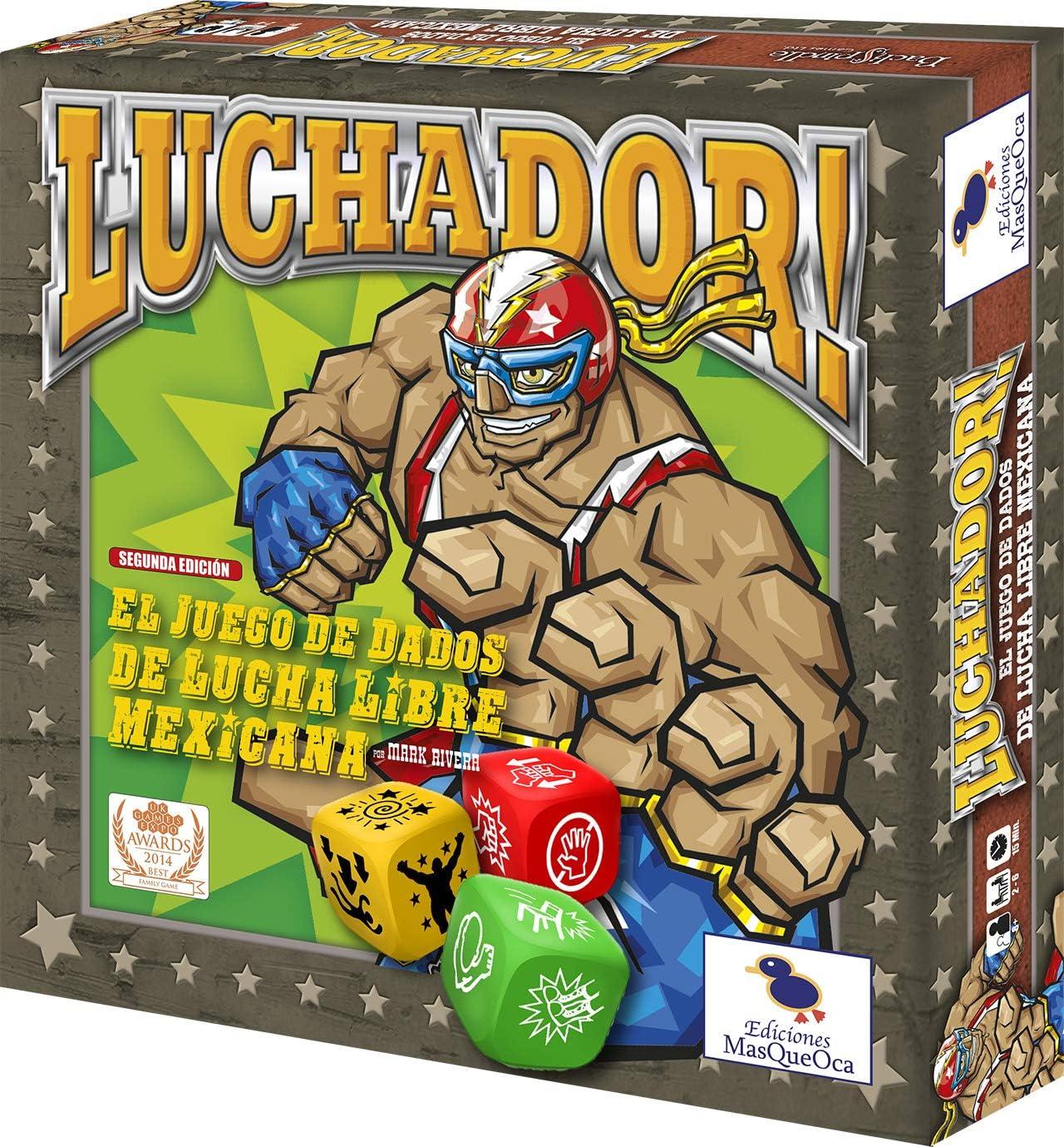 Ediciones MasQueoca - Luchador Mejicano (Español): Amazon.es: Juguetes y juegos