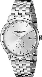 Raymond Weil Mens 5484-ST-65001 Analog Display Quartz Silver Watch