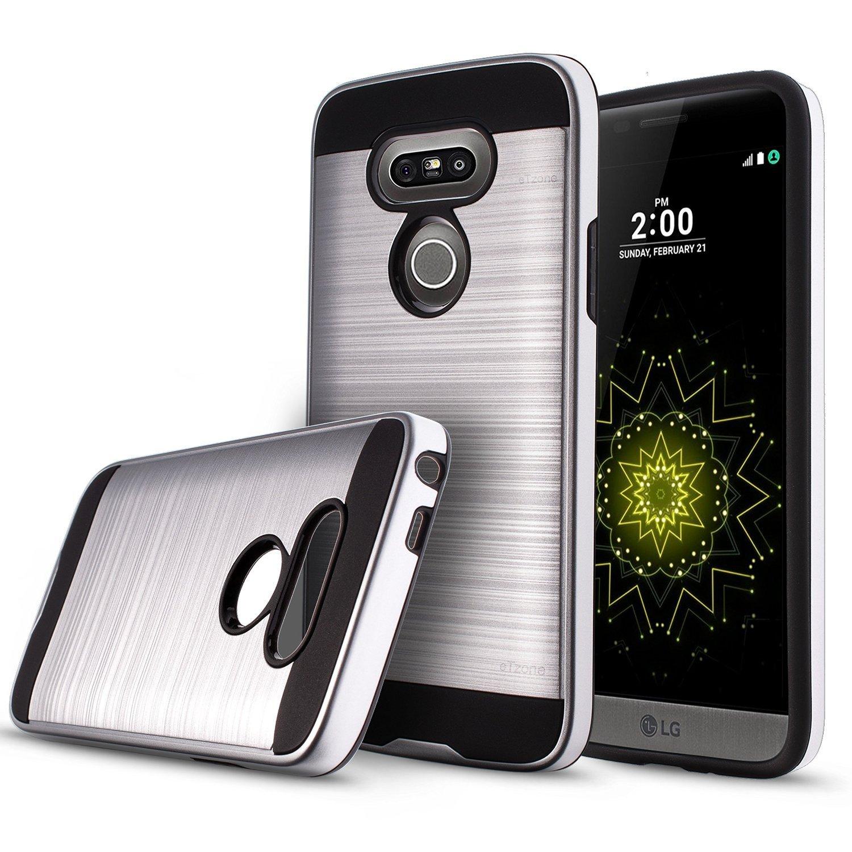 etzone carcasa para LG G5 Prime metálica protectora textura ...