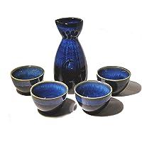 TAPBULL Japanese Sake Set 5 piece blue (Blue)