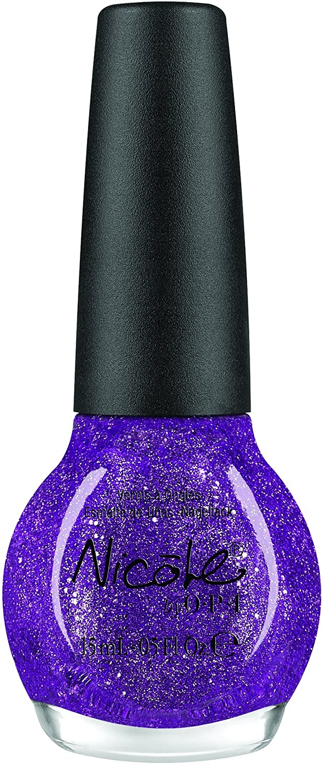 Amazon.com: Nicole by OPI Nail Lacquer One Less Lonely Glitter ...