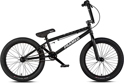 Framed Attack Pro BMX Bike Black//Silver Sz 20in