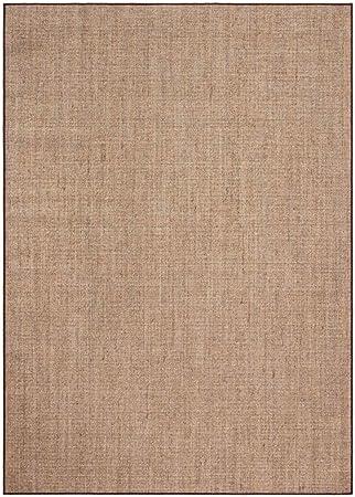 Safavieh Martha Stewart Collection Msr9501t Sisal Jute Area Rug 5 X 7 Light Brown Furniture Decor