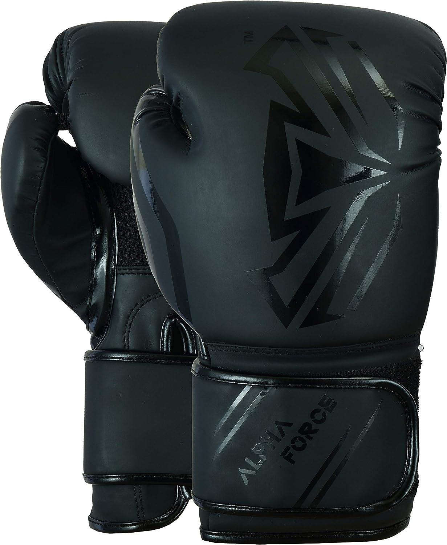 ALPHA FORCE Gants de Boxe Muay Thai Formation 3.0 Sparring Sac de Boxe Mitaines Combat de Kick-Boxing