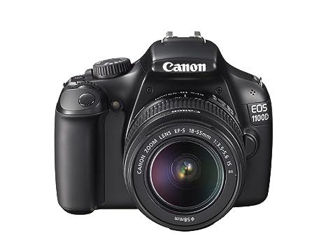 Canon EOS 1100D - Cámara réflex Digital de 12.2 MP (Pantalla 2.7 ...