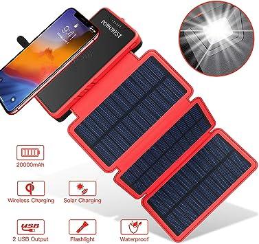 chargeur solaire usb etanche